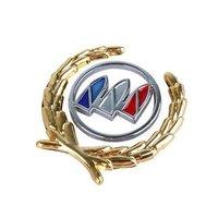 High Quality Car badge Side Mark For Buick Car Badges Car Logo Sticker Head & Rear Emblem Free Shipping