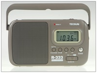 TECSUN R-333 digital display full-band clock radio (in the elderly only)