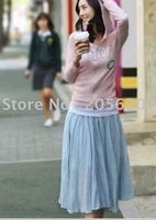 2013+hoting sales  collapse the sidebar skirt Bohemia half-length skirt dress 10pcs