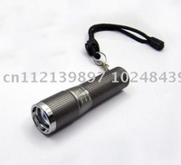 The Smallest CREE Q5 LED Mini Torch Zoom Flashlight 2pcs