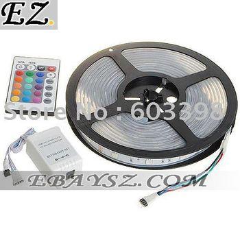 RGB 150x5050 SMD LED Multicolored Light Strip (5-Meter/DC 12V) DZ-247