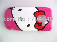 For Nokia c3 case Peach Hello Kitty Brand New Plastic Back Hard Case Cover Skin For Nokia c3 Case Free Shipping