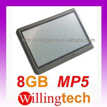 "NEW 4.3"" 8GB MP3 MP4 MP5 FM PMP Touch Screen RMVB AVI FLV"