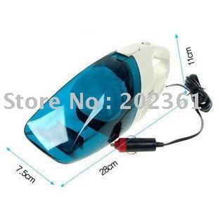 Free Shipping 50pcs/lots MINI 12V DC Portable Vacuum Cleaner for Car Caravan(China (Mainland))