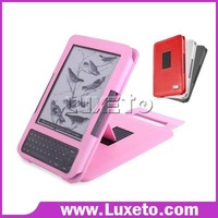 stand leather case for kindle 3 3G DHL 60% discount!!!
