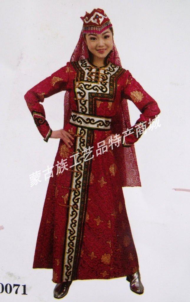 Mongolia clothing dress mongolian costumes modern fashion clothing