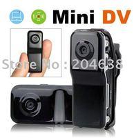 2pcs/lot Mini DV 80 Camcorder DVR Video Camera hidden WebCam MD80 DC free shipping