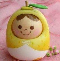 Free Shipping,Wholesales, Unazukin,Unazukin Pear,Voice Control Toys,Unazukin Nod Toys,Unazukin Fruit Version