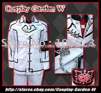 Wholesale Freeshipping Hot Selling low price Cheap Cosplay Costume C1202 Vampire Knight Kuran Kaname Uniform