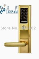 2013 New, Security Digital Fingerprint Access Control Door Locks,L328RM Free Shipping