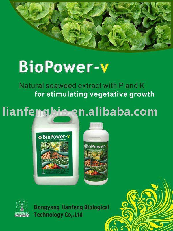 Seaweed Organic Fertilizer liquid foliar fertilizer with potassium and phosphor(China (Mainland))