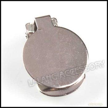 150pcs/lot Fashion Iron Large Flat Frog Clip Earring Hook Charms Earring Findings Fit Earring DIY 160321