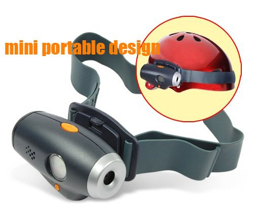 New Mini Action Sport Helmet belt Camera Video Camcorder DVR Cam(China (Mainland))
