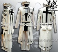 Wholesale Freeshipping Hot Selling low price Cheap Cosplay Costume C1314 D.Gray Man Komui II Uniform