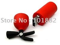 Free shipping PVC fire extinguisher usb flash drives