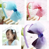 Girls' Hair Accessories Baby hair bows Baby grosgrain ribbon bows infant Headbands A015
