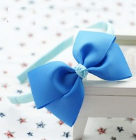 Girls' Hair Accessories Baby hair bows Baby grosgrain ribbon bows infant Headbands A018