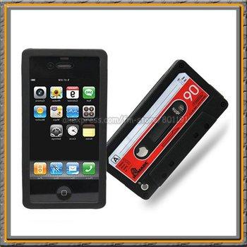 Classic anti crash anti slip Mobile phone Rubber case for iPhone 4G