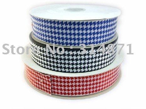Hot seller! Free Shipping! 36mm width jacquard ribbon, mini non-regular diamond design, double face.(China (Mainland))