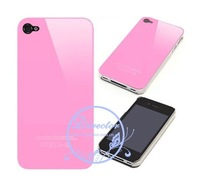 DIRECTOR Free shipping 50pcs/lot Snap-on Hard Case for iPhone 4 w/ Logo (DT-11050503)