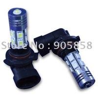 50 pcs/Lot of car Fog LED Light 9005/9006(HB3/HB4)-10SMD+1Watt HP LED 12V White