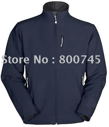 free shipping NEW Apex Bionic Jacket Mens BlUE waterproof/mesh lined/hoody/nylon/polyester/windbreaker jacket(China (Mainland))