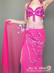 new arrival Belly dance wear/Belly dance costumes/Belly dance professional costume 2pcs bra&belt(China (Mainland))
