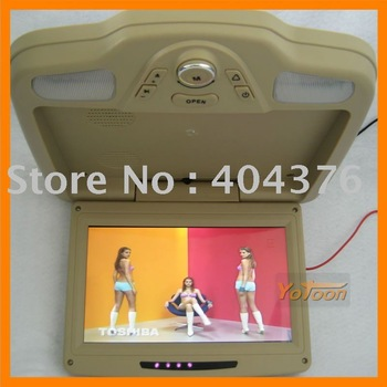 yotoon new car roof dvd player+MPE MP4+SD card reader