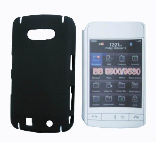 Wholesale 10pcs/lot Plastic Rubberized Hard Case Cover for Blackberry Storm 9500 9530 Free Shipping(China (Mainland))