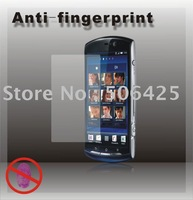 Free Shipping New Brand Hot Selling Clear Anti-fingerprint Screen Protector For SE Xperia neo