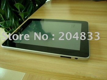 A8 latest super slim 8inch Tablet PC supports Google Android 2.2 with free scale CPU DDR512MB and 4G HDD