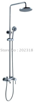 1pcs modern style+whole salel+brass+shower mixer+free shipping +3 years guaratteen+suitable for bathroom.hotel( chorme)