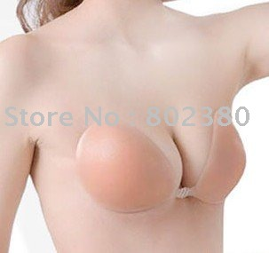 5pcs/lot, Free bra,adhesive silicone bra,sexy invisible bra,freebra,breast pad(China (Mainland))