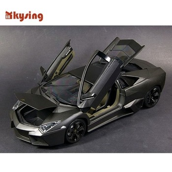 1:18 Lamborghini Prague / Reventon cool black car model Free Shipping