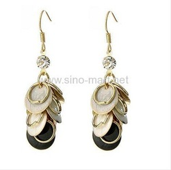 Free shipping,wholesale,anniversary dangle earing Jewelery Jewellery Jewelry , stud Earing , Elegant earrings, fashion jewelry(China (Mainland))