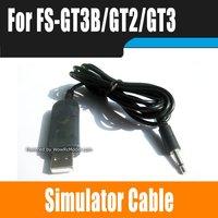 Fly-sky Simulator Cable For Flysky FS-GT3B/GT3/GT2 GT3B Controller Radio Set  FS-TH9X-B TH9X 9ch Transmitter