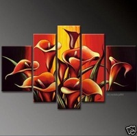 Modern Oil Painting On Canvas  abstract painting Guaranteed 100% Free shipping YP645