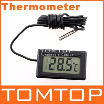 LCD Fridge Freezer Temperature Digital Thermometer, 50pcs/lot, freeshipping, dropshipping