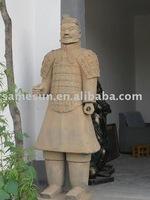 Xi'an terra-cotta warriors of ordinary soldier
