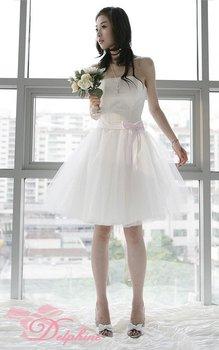 New Wedding Dress/Swan dress up/Size:6-8-10-12-14