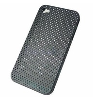 New Hard Mesh grid Net Case for iPhone 4 4G 4Th Gen Free Shipping