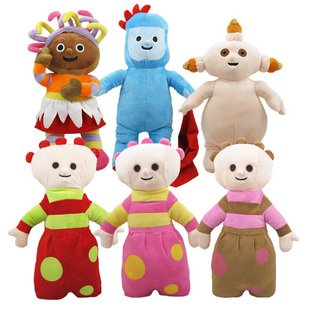 candice guo! In the night garden cute plush toy doll big style 40CM birthday gift 6 pieces a set