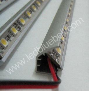 LED Cabinet Light, LED Strip Light , SMD 5050, 60 LEDs/1.0m, V-Type Aluminum non Waterproof,DC12V, Wholesale 10pcs/lot