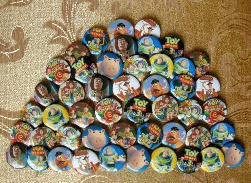 3cm Toy story Woody Buz pin badge 40pcs New(China (Mainland))