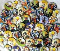 4.5cm Naruto Ninja Japan Anime pin badge 45pc New