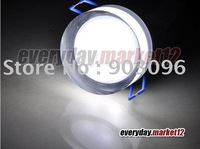 LED Down Light 3*1W Cool White Recessed Cabinet Light Acrylic