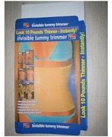 Hot selling!!! Wholesale 20pcs/lot Free Shipping Invisible Tummy Trimmer New Slimming Waist Belt