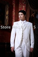 JLH080015   2014  Men Complete Designer Embroider  Sets Suits(Jacket , Pants and Shirt)