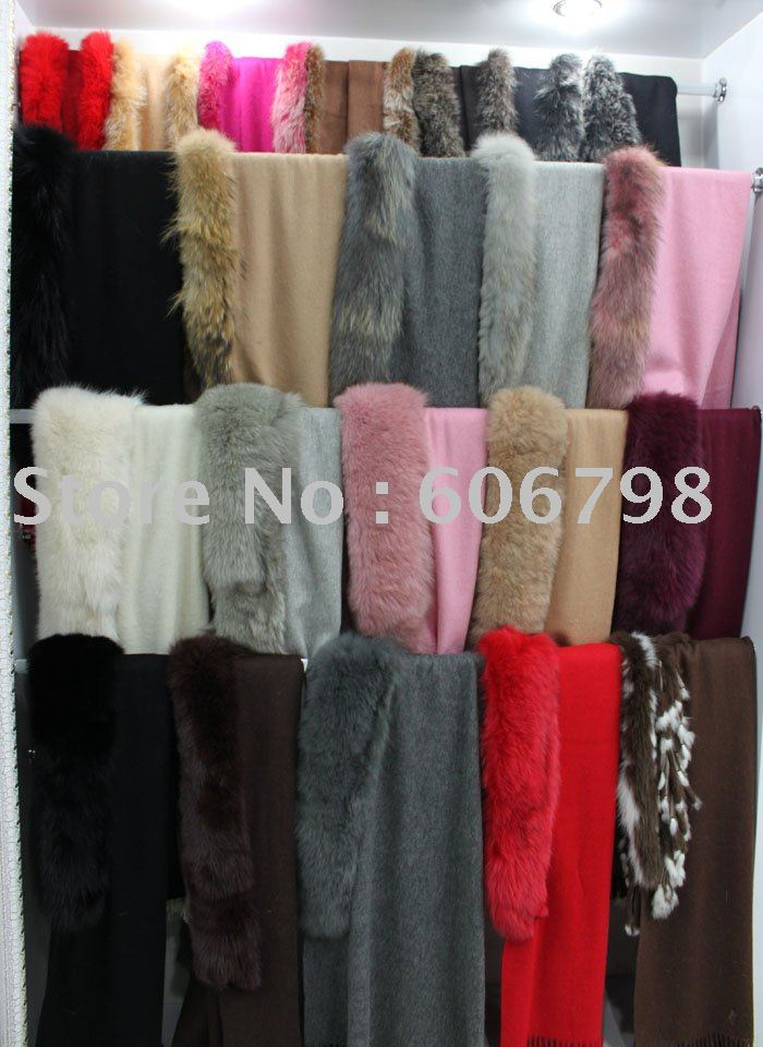 Free Shipping Rabbit Fur and 100% Pure Wool Fashion Ladies' shawls(China (Mainland))