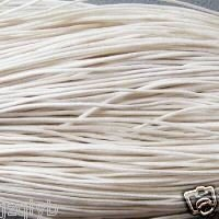 free shipping Wholesale 60m Dia.2.0mm Brown Waxed Cotton Necklace Cord(China (Mainland))